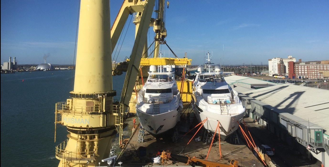 Peters and May Aurora Global Logistics Australian Superyacht Rendezvous
