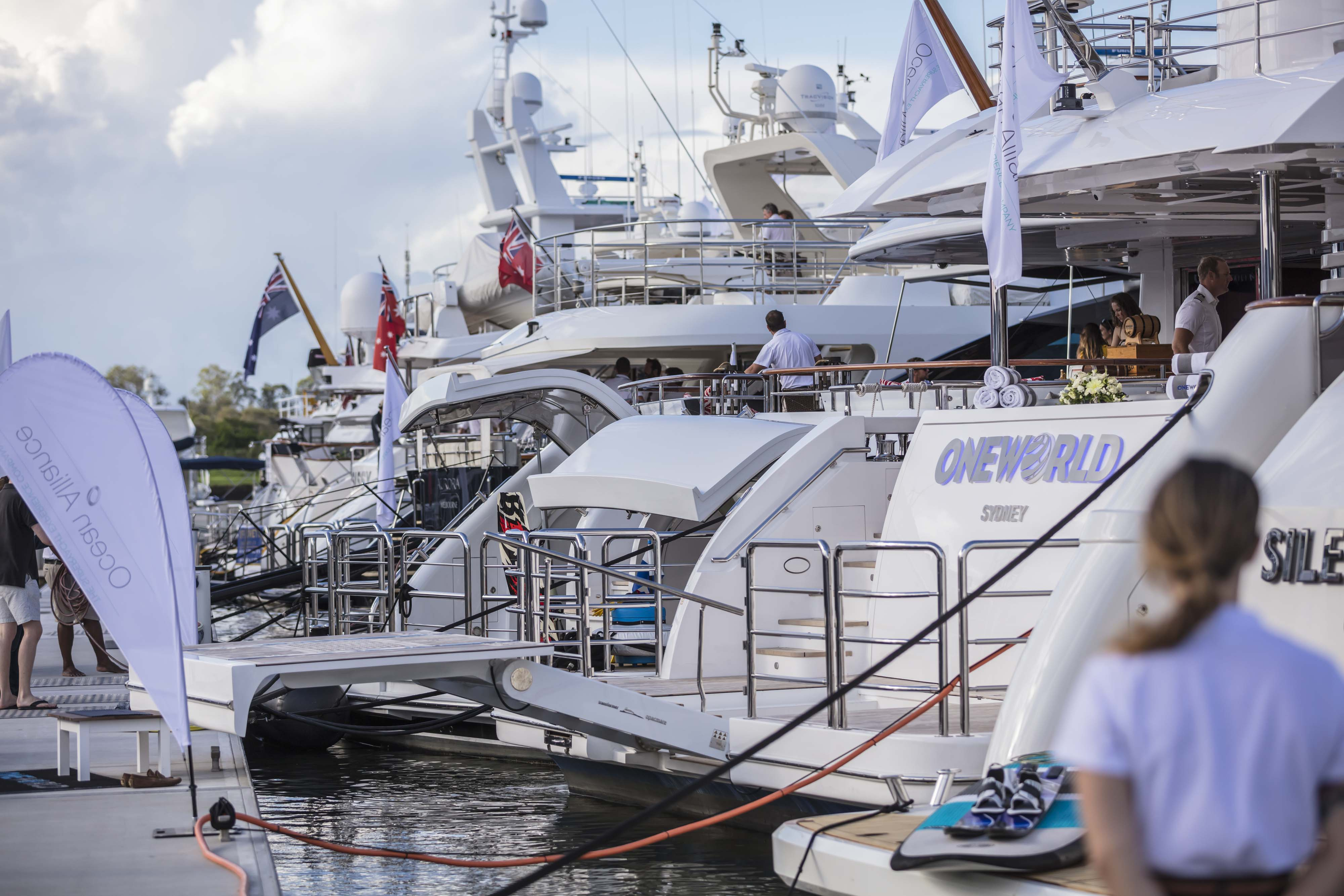 Oneworld makes her world debut at the Australian Superyacht Rendezvous