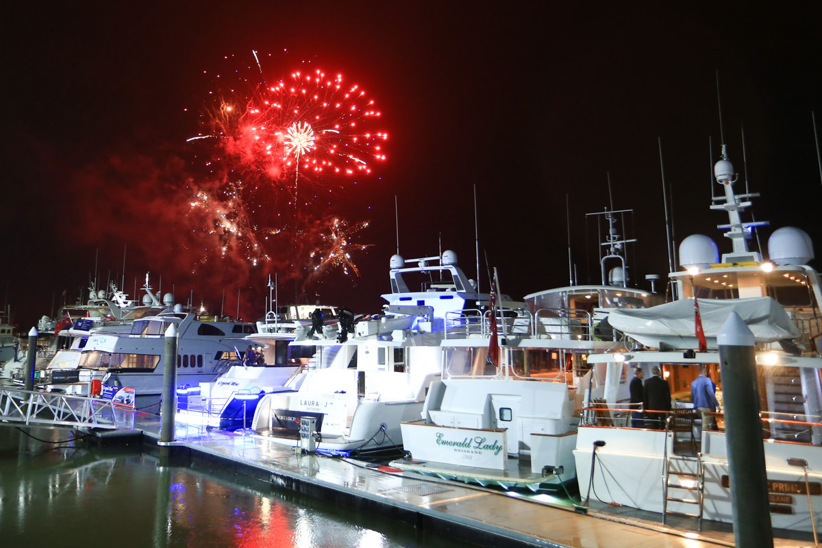 The yachts of the Australian Superyacht Rendezvous 2017