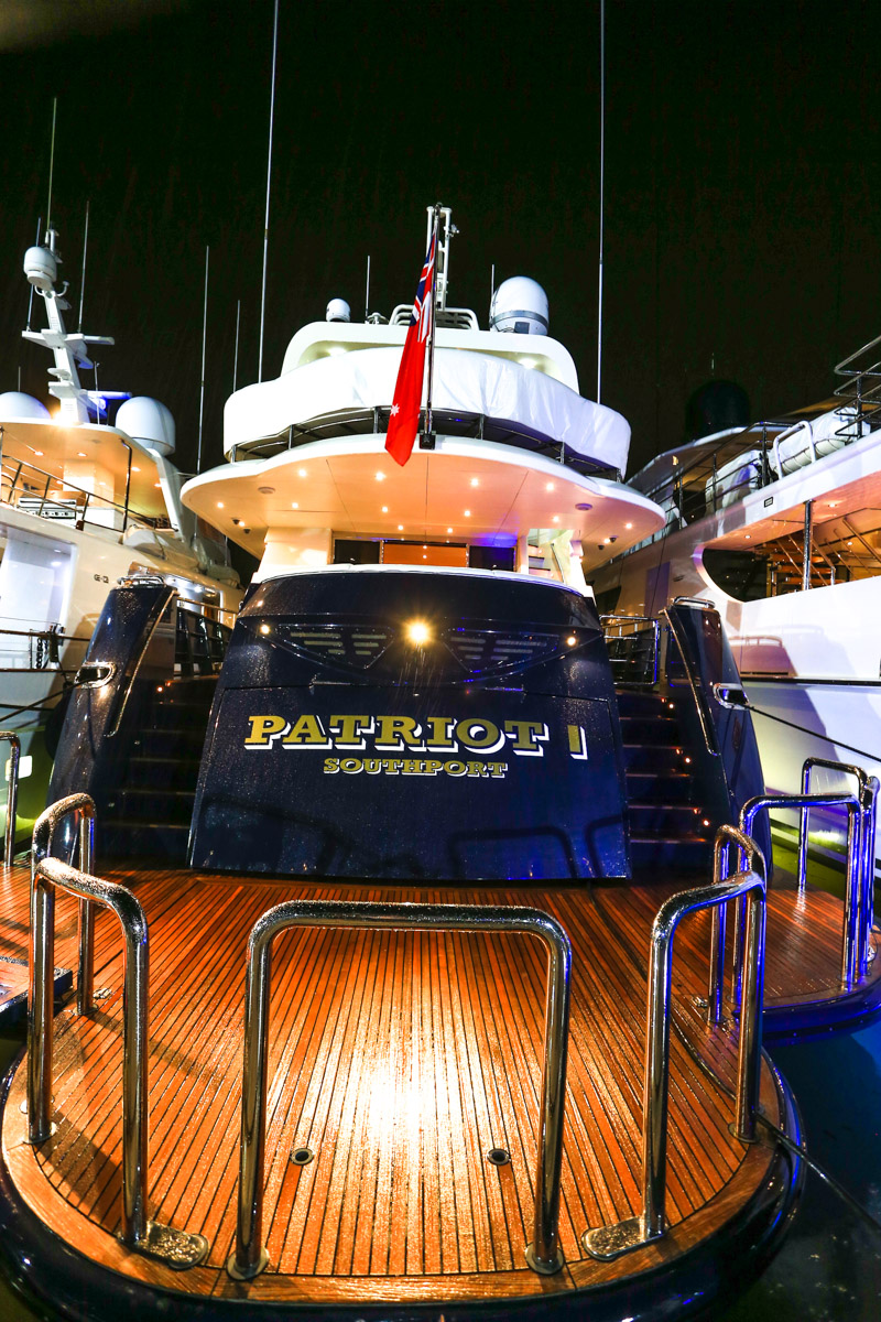 Yachts of the Australian Superyacht Rendezvous 2017