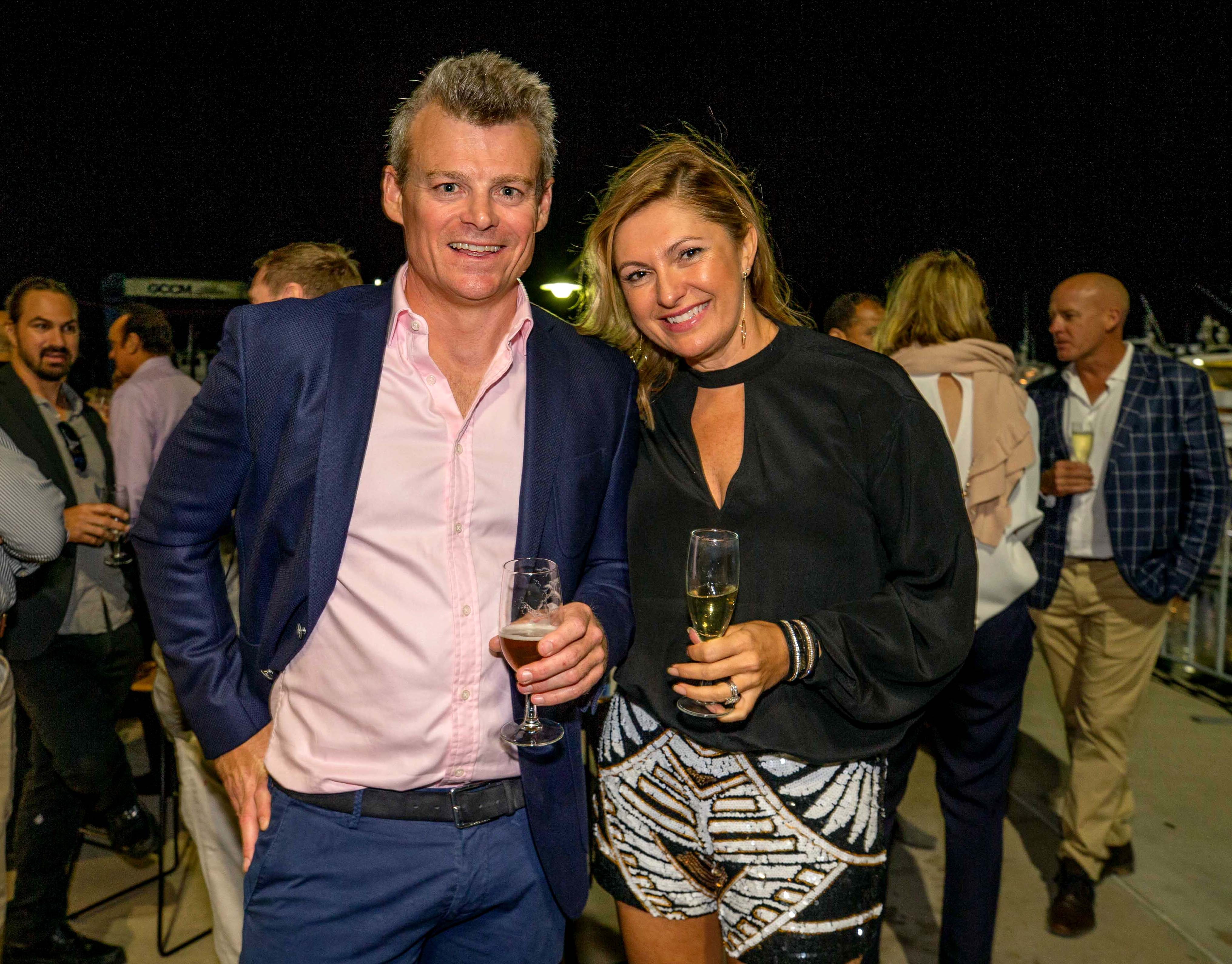 Guests of the VIP event of the Australian Superyacht Rendezvous 2018