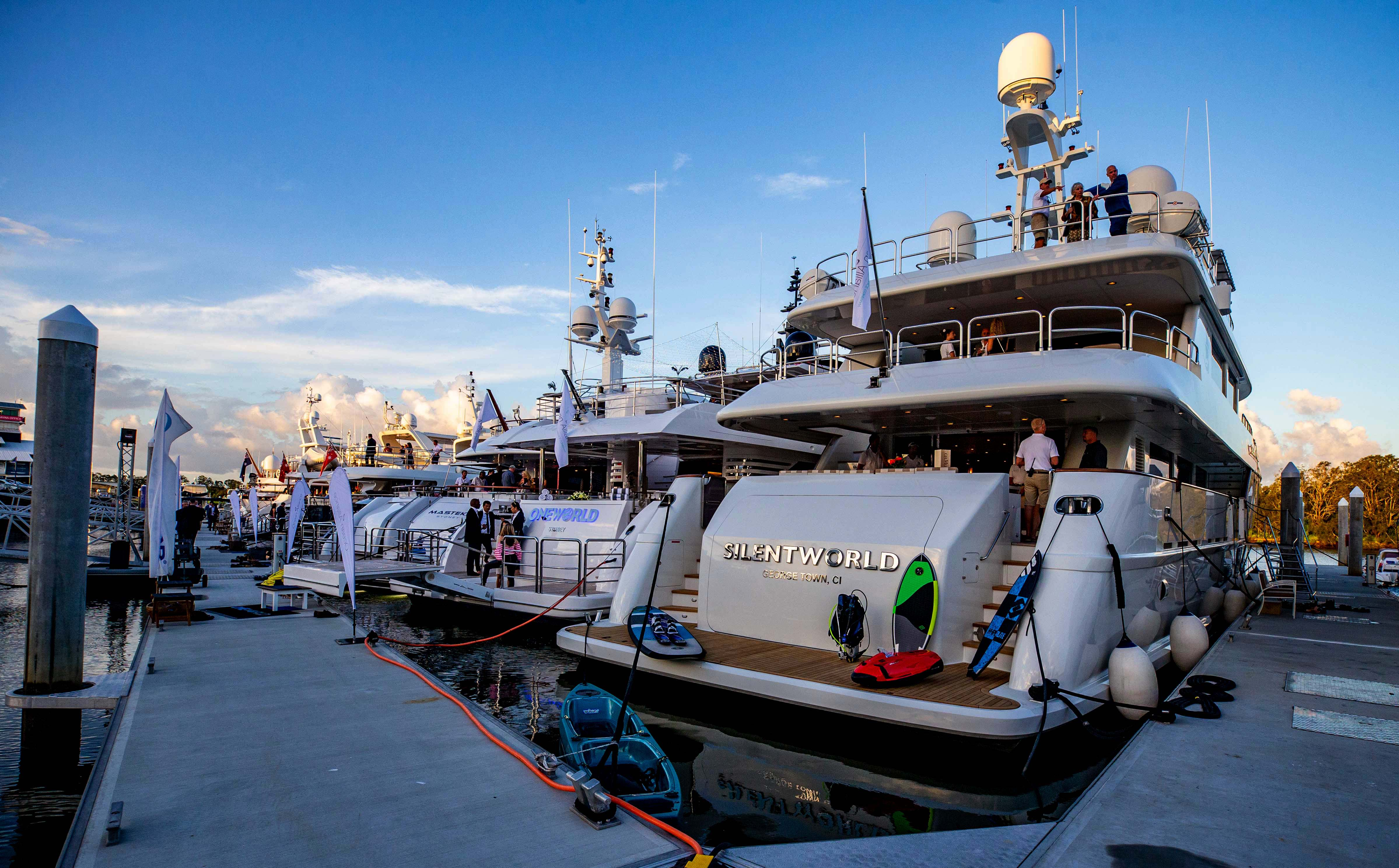 Australia's leading superyachts at the Australian Superyacht Rendezvous