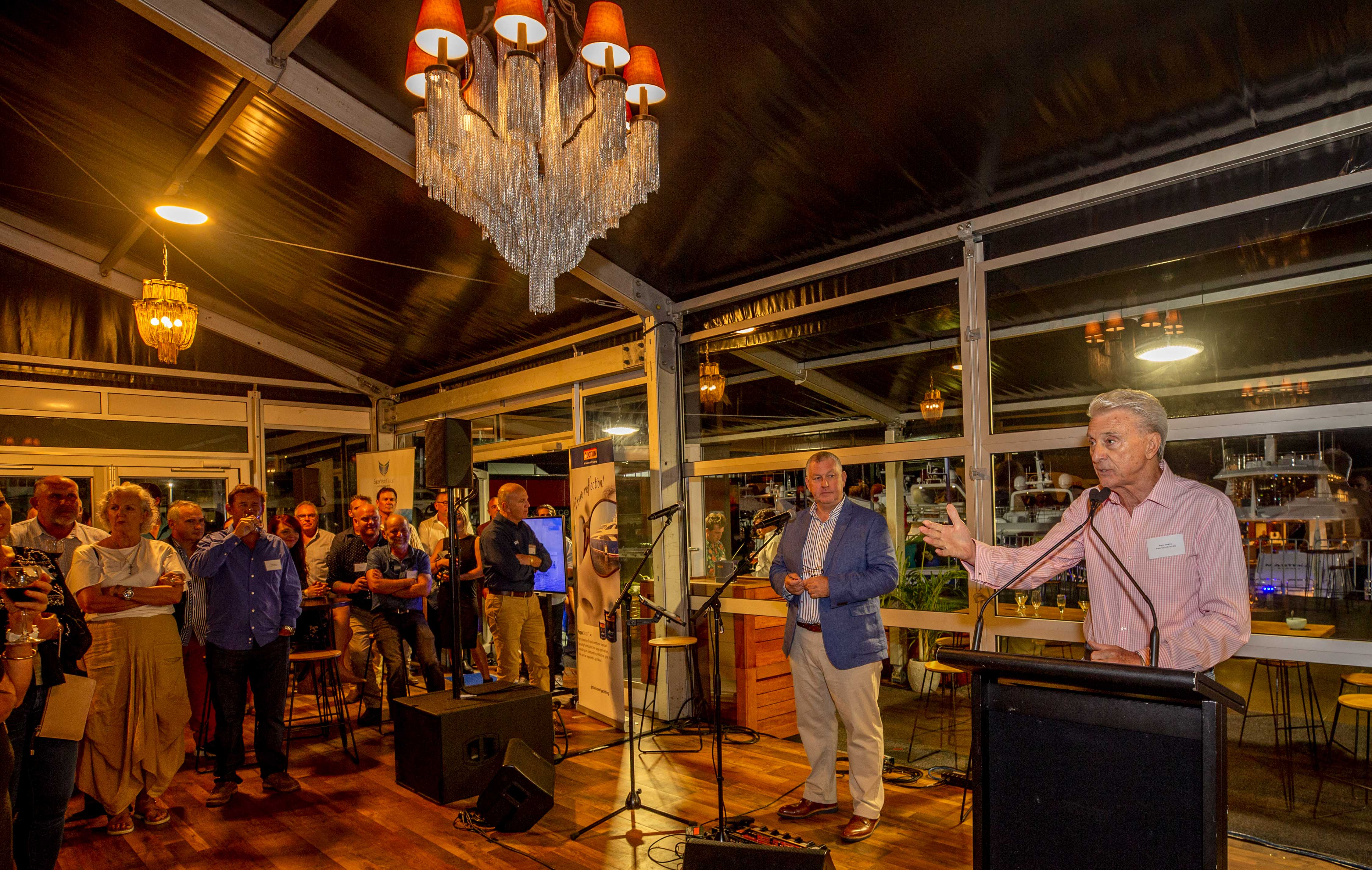 The Australian Superyacht Rendezvous networking events