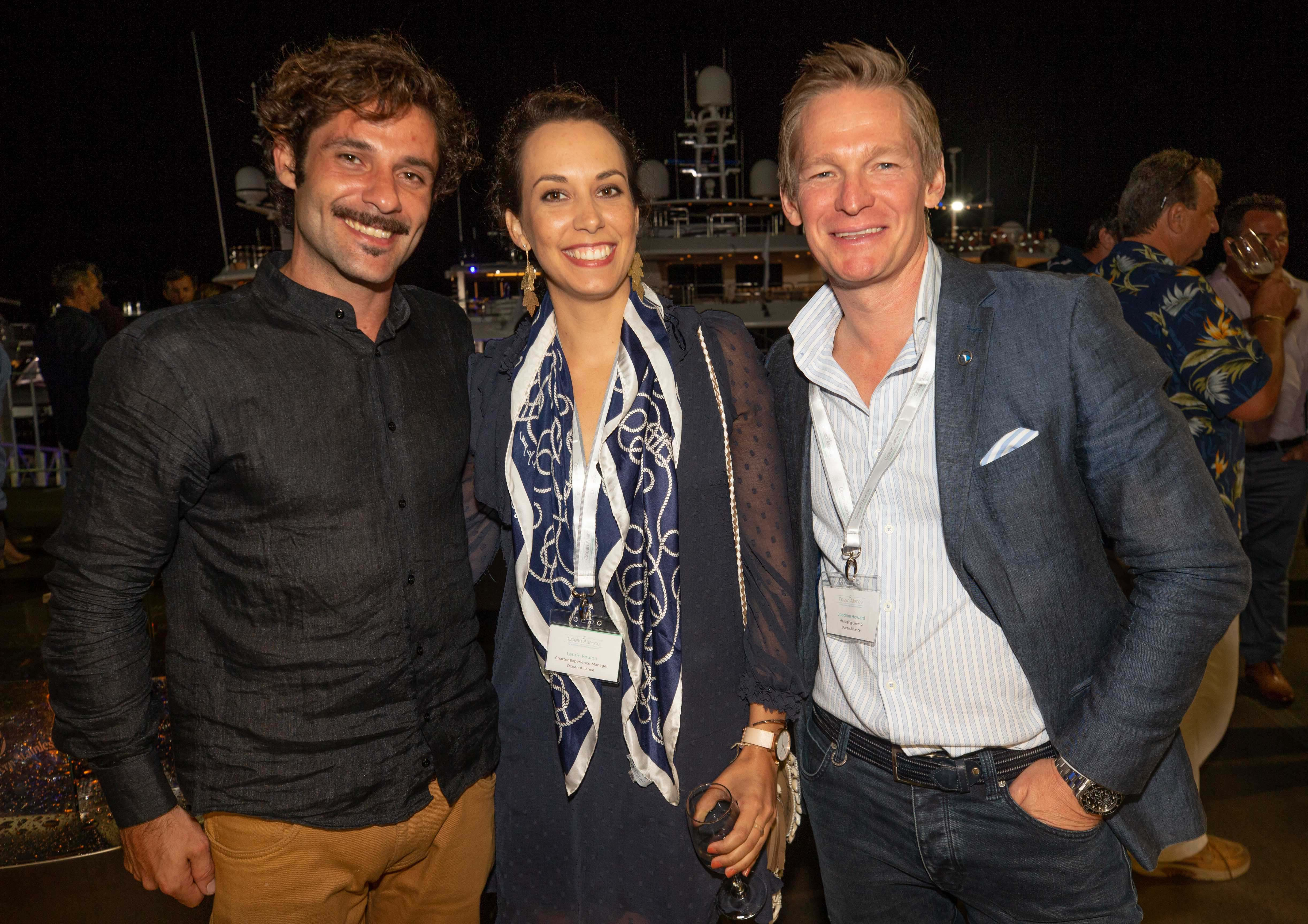 Leading brokers at the Australian Superyacht Rendezvous