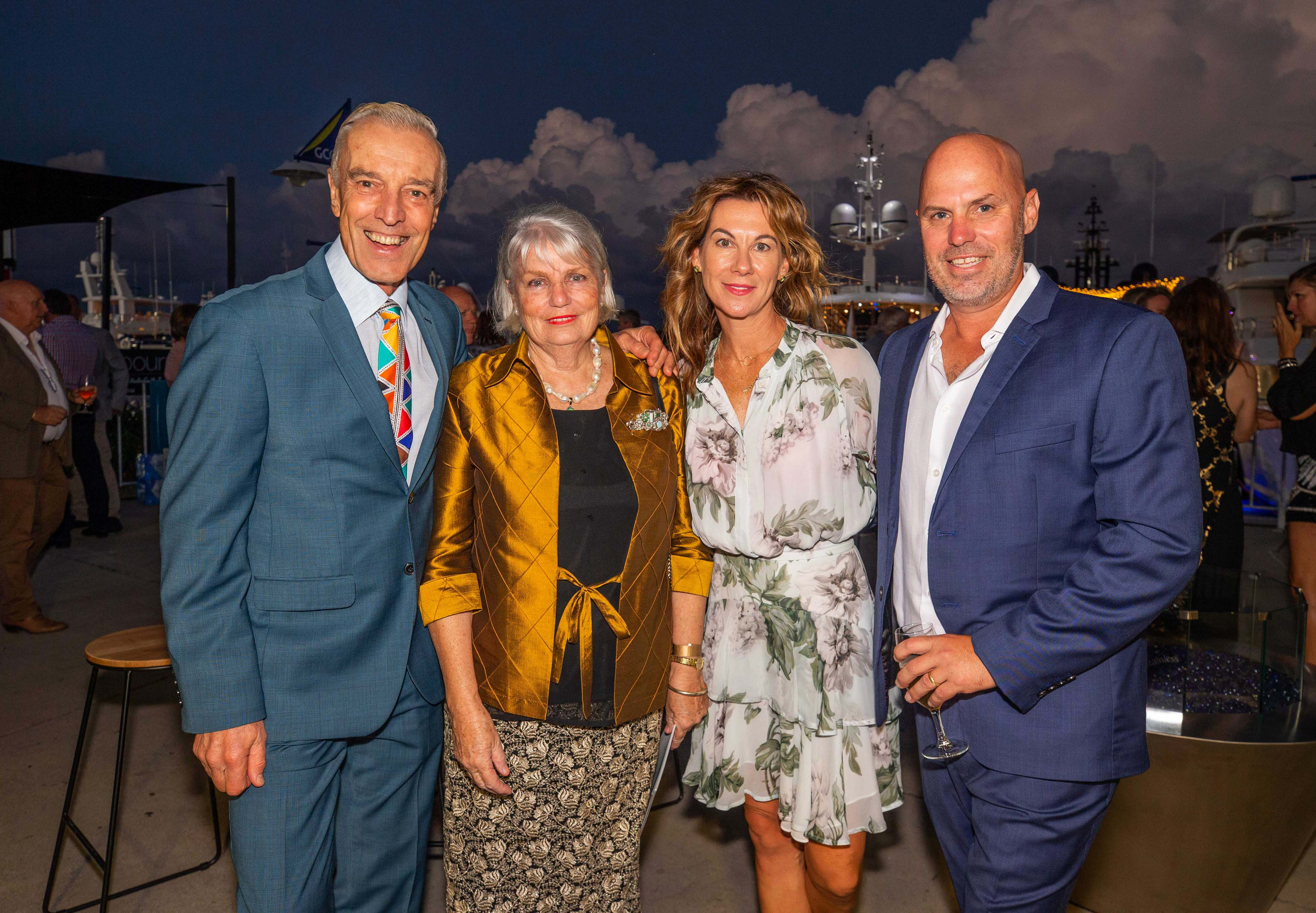 VIP Guests as the Australian Superyacht Rendezvous Yacht Hop