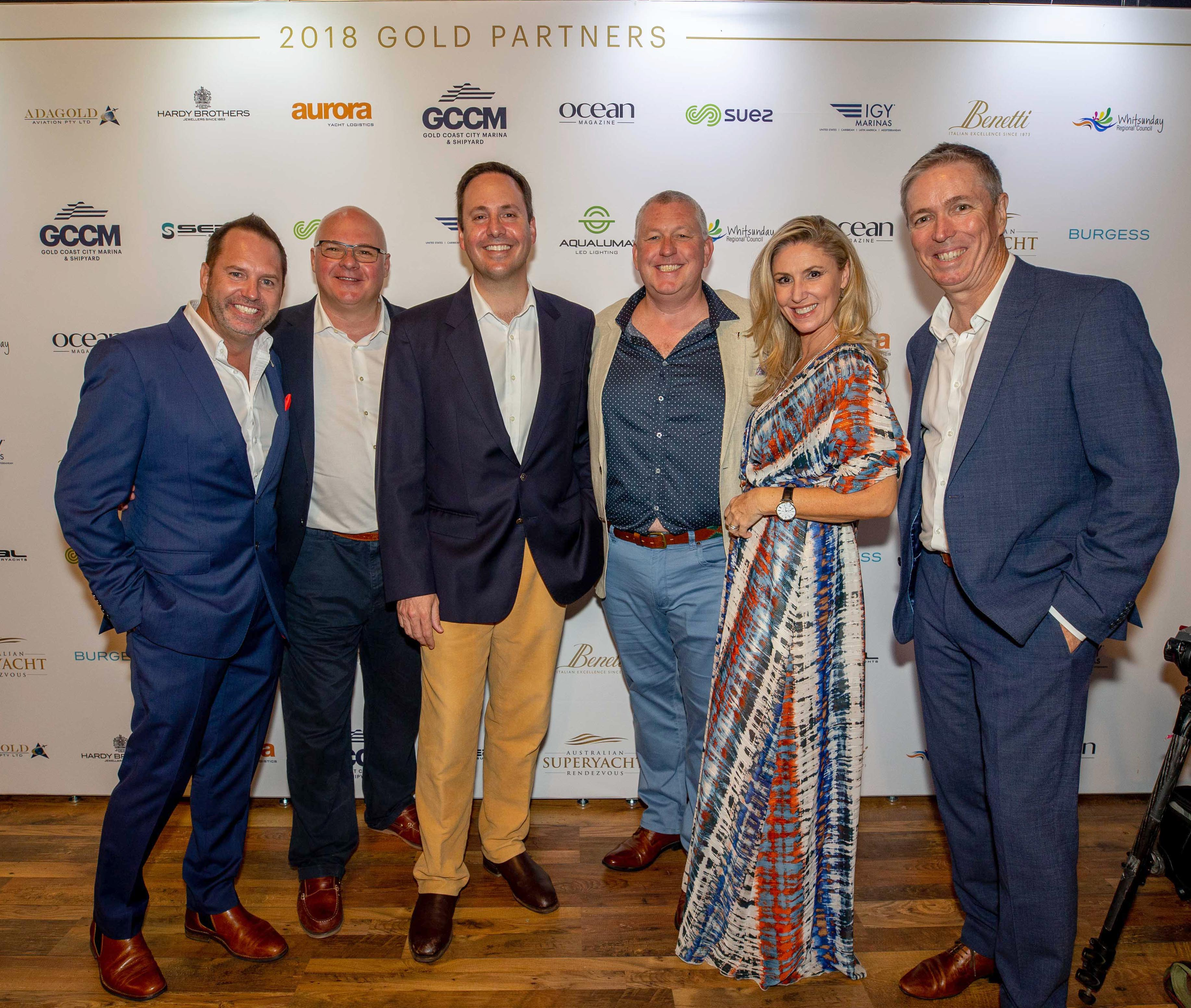 Sponsors of the Australian Superyacht Rendezvous 2018