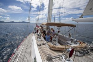 Sailing at Kata Rocks Superyacht Rendezvous